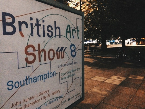 British Art Show poster