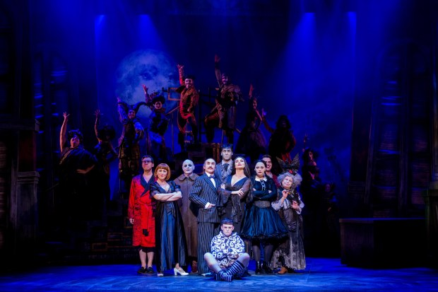 The cast of THE ADDAMS FAMILY. Credit Matt Martin (3)