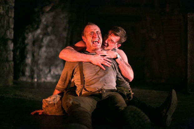 Tim Treloar (Jack Firebrace) & Tom Kay (Stephen Wraysford) in BI