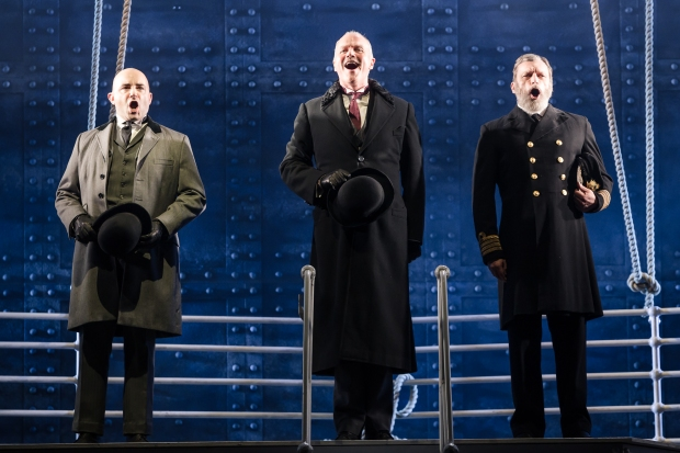 Titanic Greg Castiglioni as Thomas Andrews Simon Green as Bruce Ismay Philip Rham as Captain Edward Smith