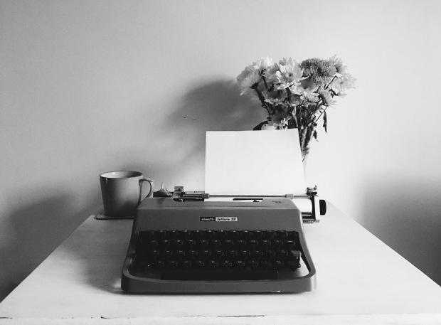 Olivetti typewriter - Jo Fisher Writes - Writing Free Verse