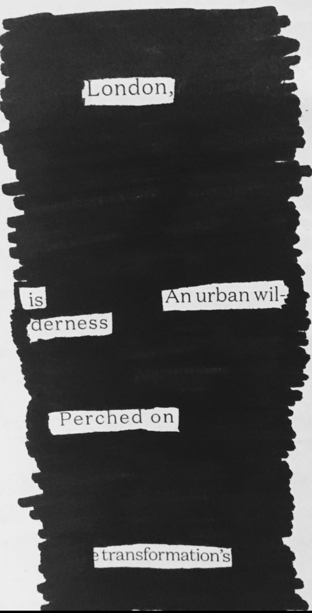 Jo Fisher Writes - Blackout Poem 4