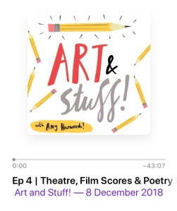 Art and Stuff Podcast episode 4