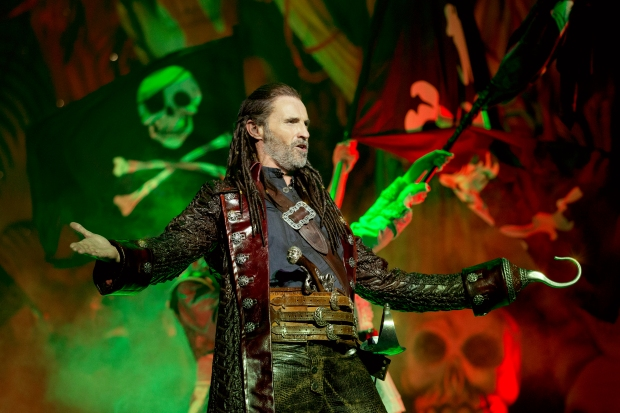 Peter Pan Marti Pellow as Captain Hook